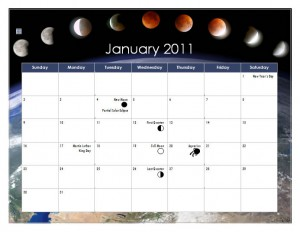 Lunar Calendar In Word